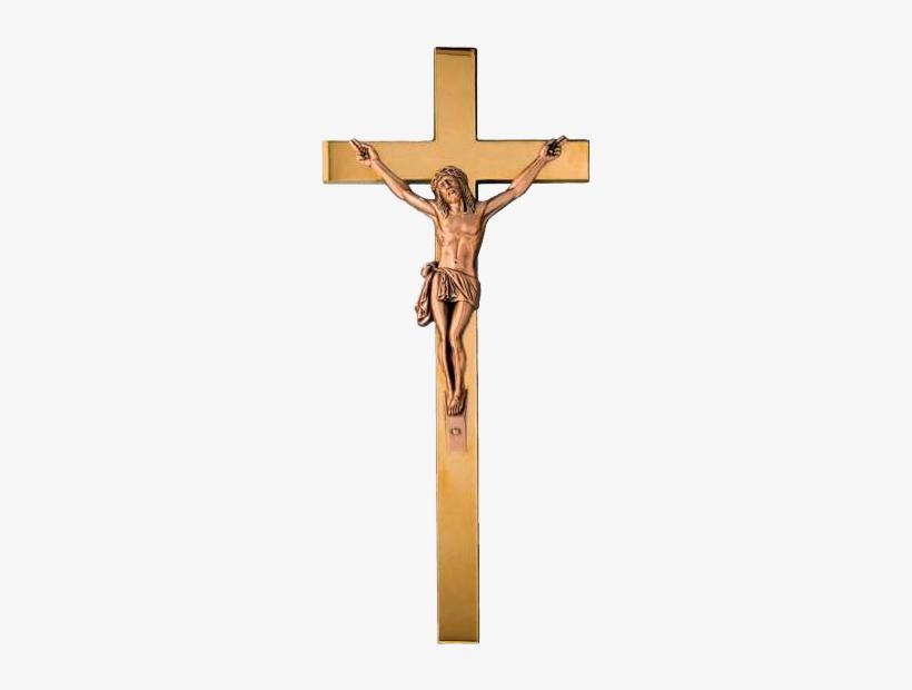 Crucifijo De Bronce Ref.