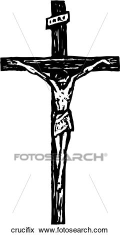 Crucifix Clip Art.