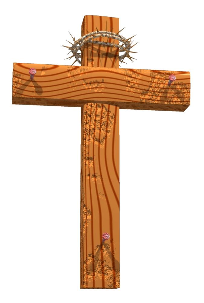 Wooden Cross Clipart Free.