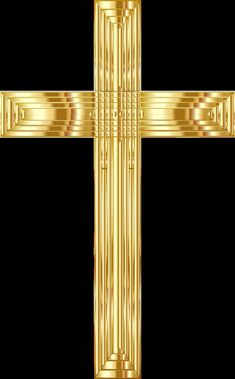 Jesus Christ Cross Crucifix PNG.