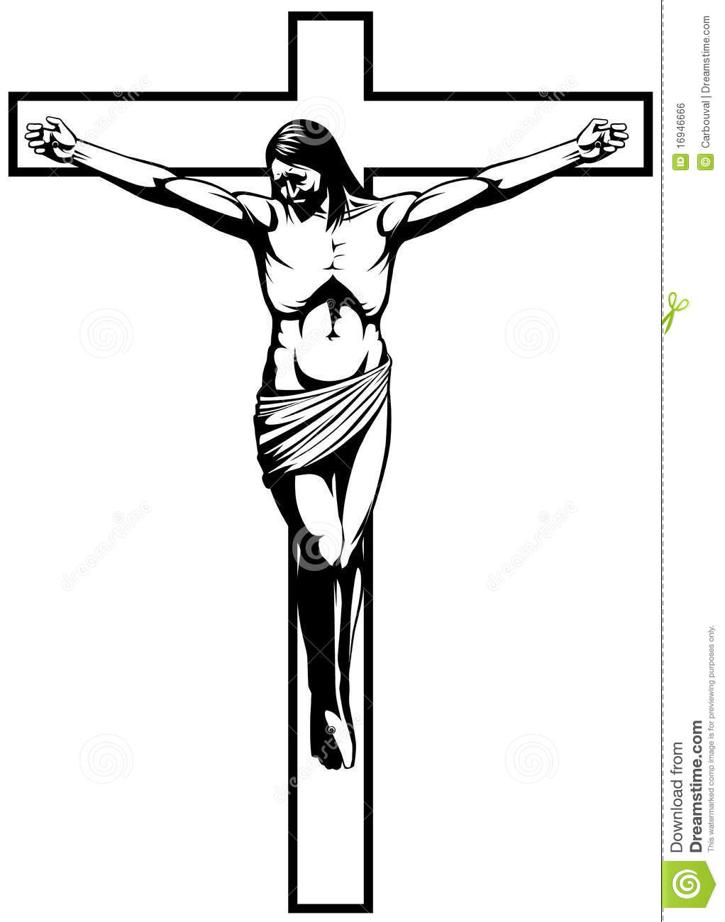 Crucifixion Of Jesus Drawing.