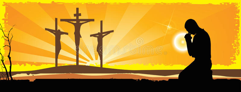 Crucifixion Stock Illustrations.