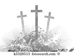 Crucify Clip Art EPS Images. 235 crucify clipart vector.