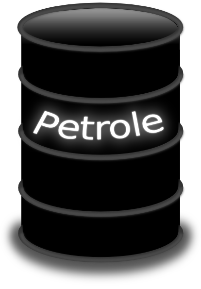 Crude Oil Barrel Clipart.