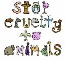 Cute animal cruelty clipart.