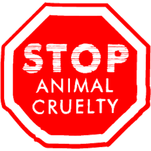 Animal abuse clipart.