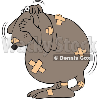 Animal Cruelty Clipart by Dennis Cox.