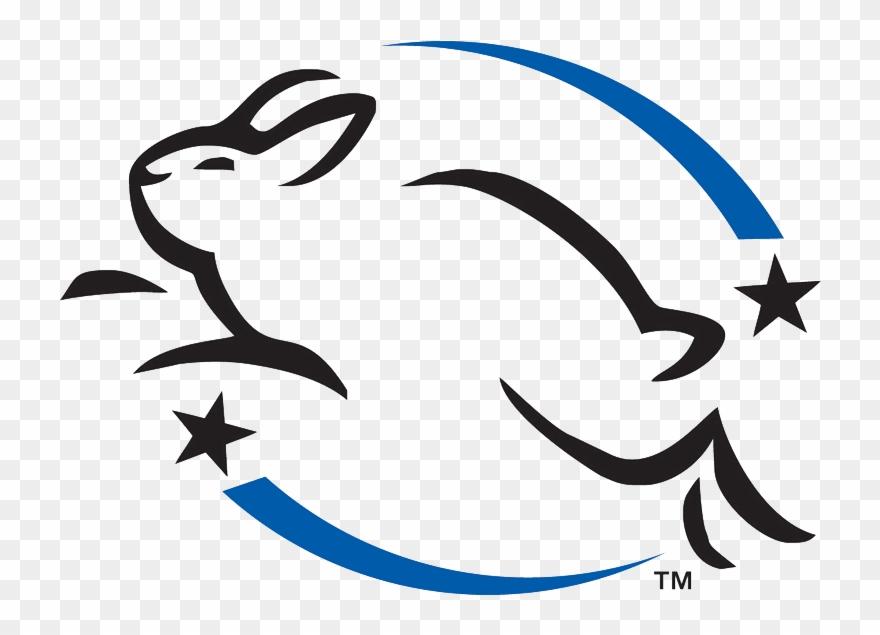 Leaping Bunny Logo.
