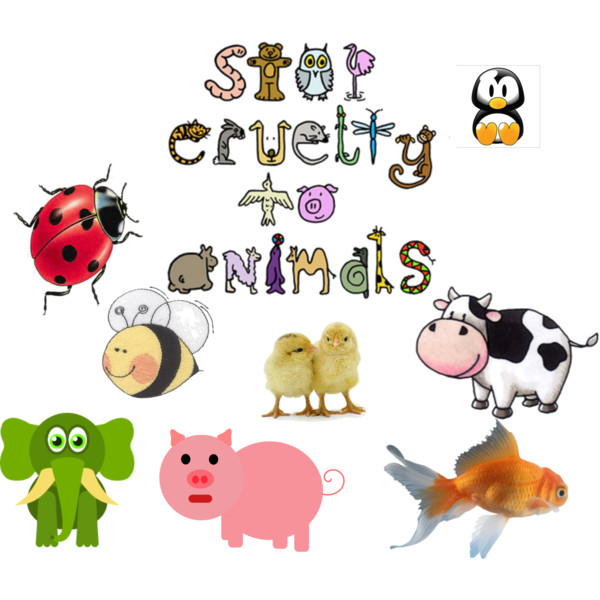 Cruelty to animals clipart.