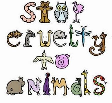 Cruelty to animals clipart #15