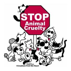 Stop animal cruelty use a paedophile.