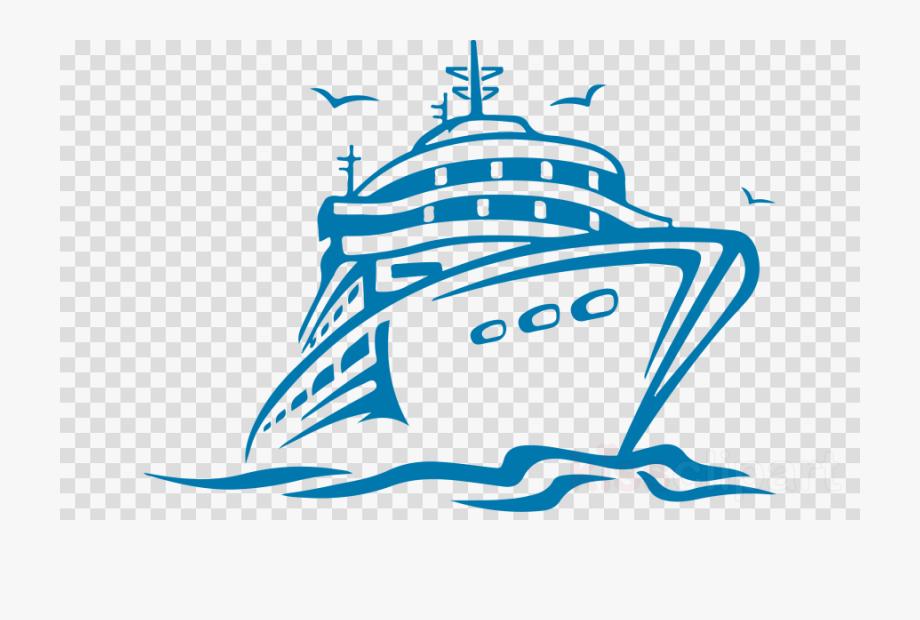 Cruise Ship Transparent.