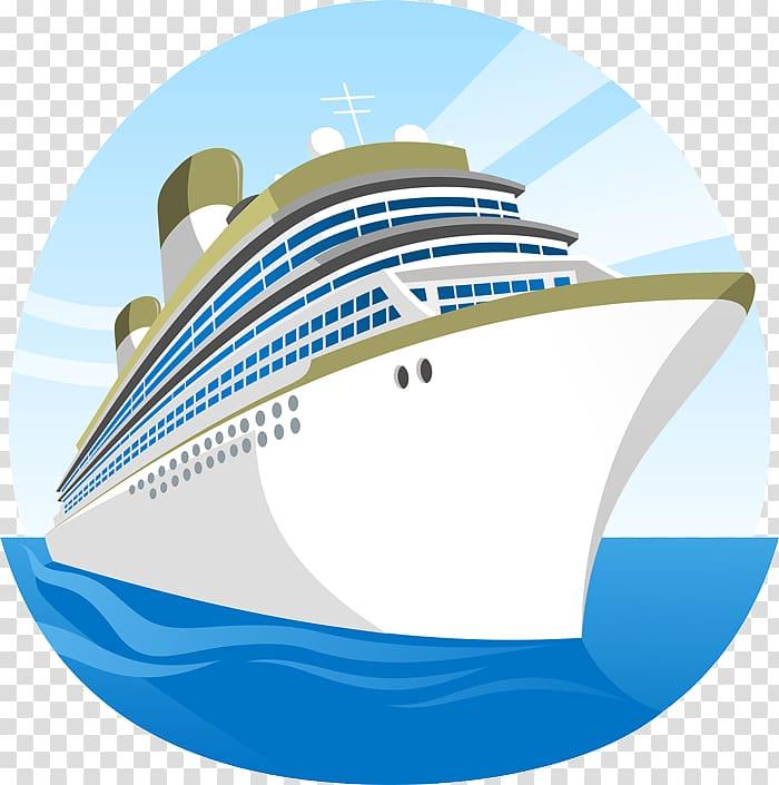 Cruise ship Cartoon , cruise ship transparent background PNG clipart.