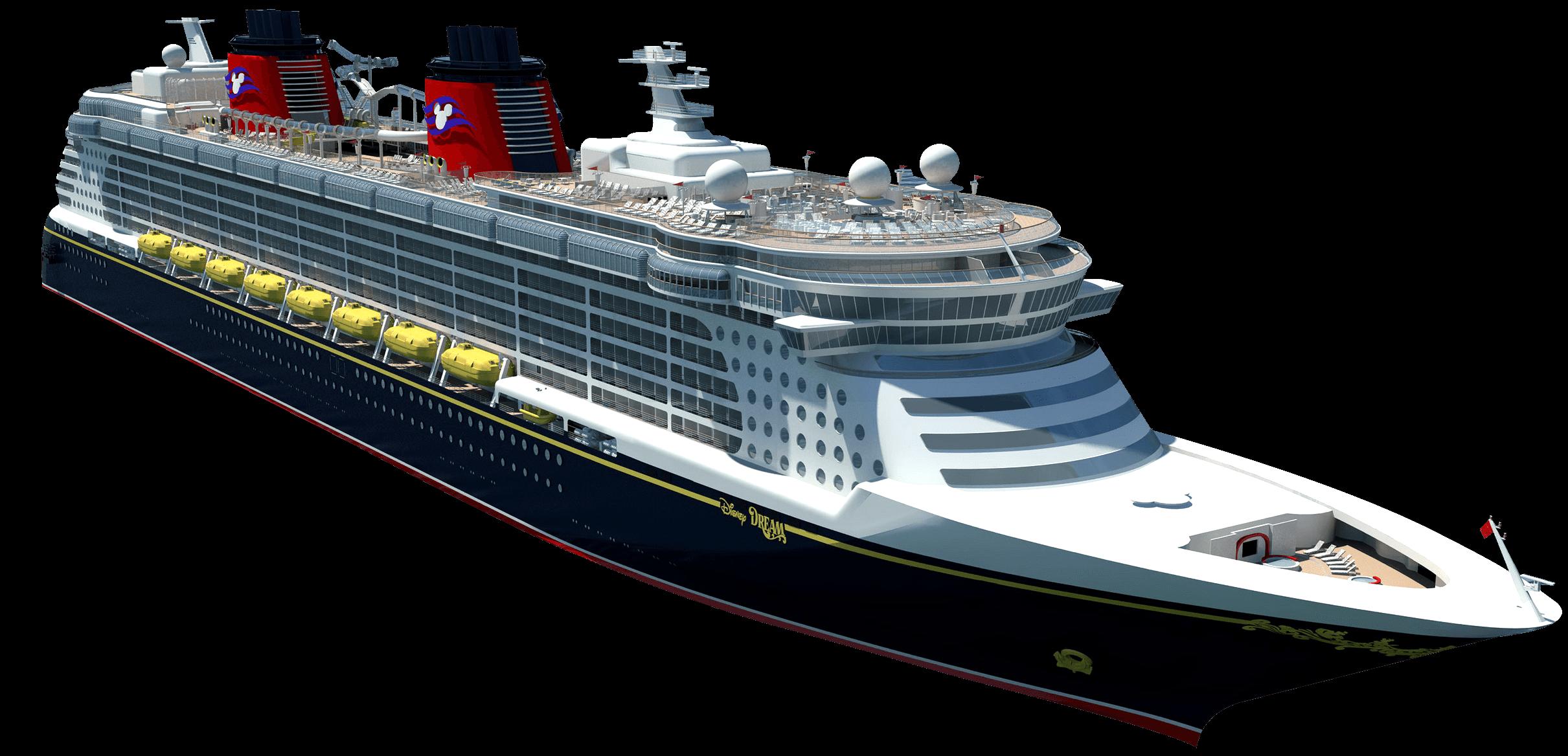 Cruise Ship Illustration transparent PNG.