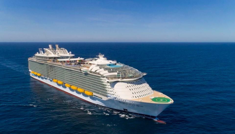 Inside Royal Caribbean's Symphony Of The Seas, World's Biggest.