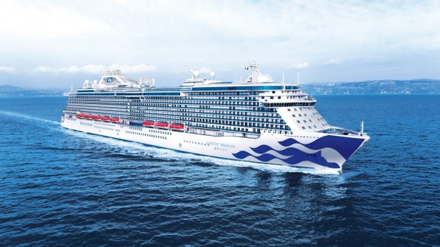 Princess Cruises' newest ship Majestic Princess to arrive in Sydney.