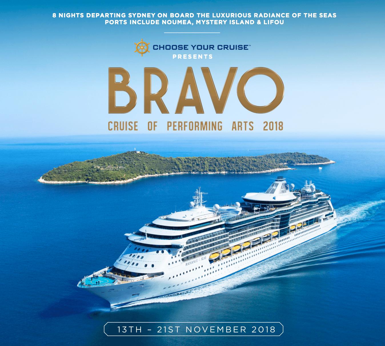 Bravo Arts Cruise 2018 — Mike Pensini.