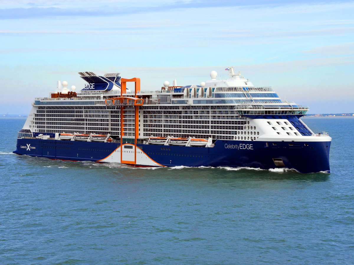 The Celebrity Edge was named the best new cruise ship of 2018. It.