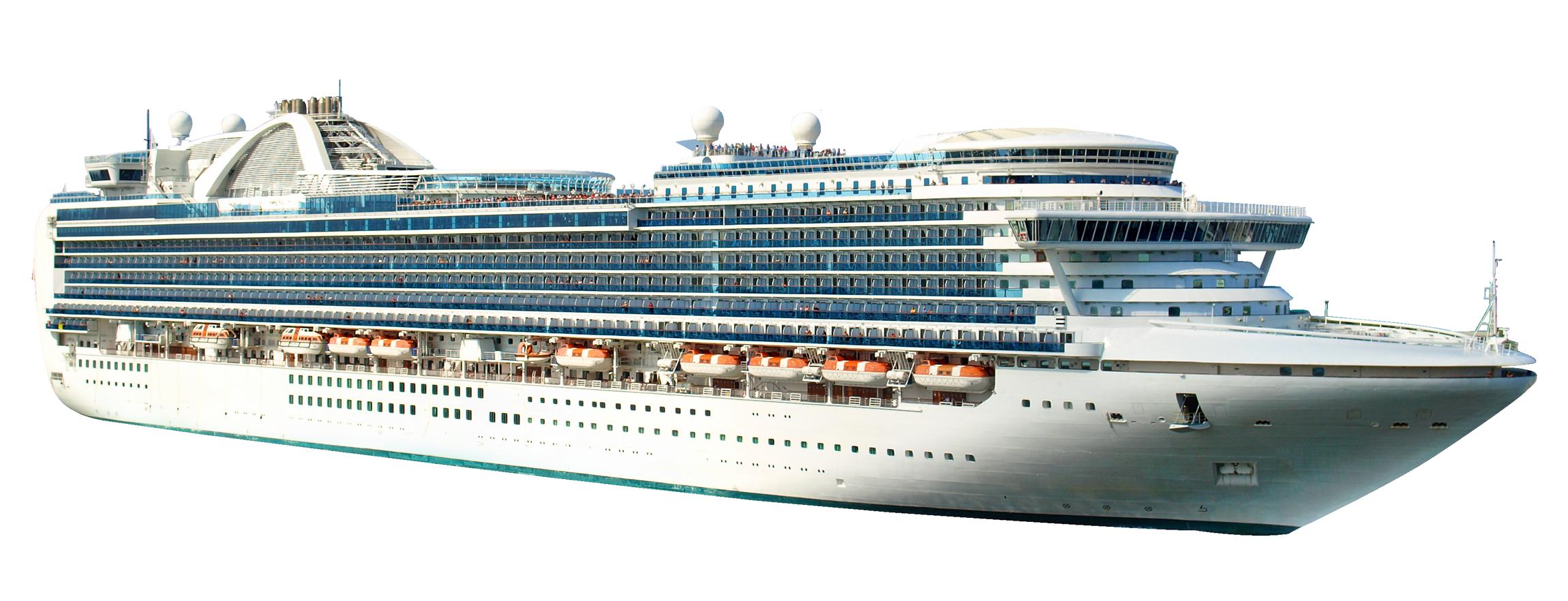 Cruise Ship PNG Image.