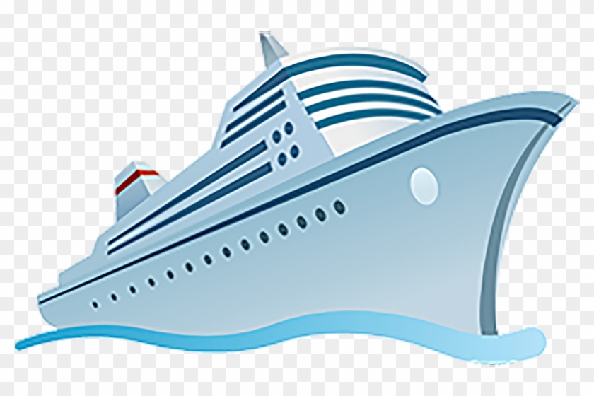 Cruise Ship Vector Png, Transparent Png.