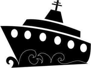 Free Cruise Ship Clip Art Image.