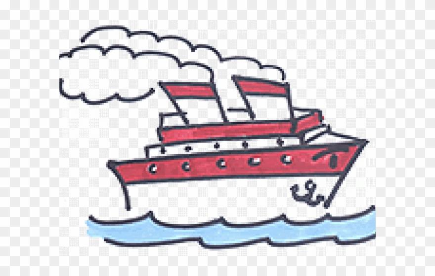 Cruise Ship Cartoon Gif Clipart (#1299801).