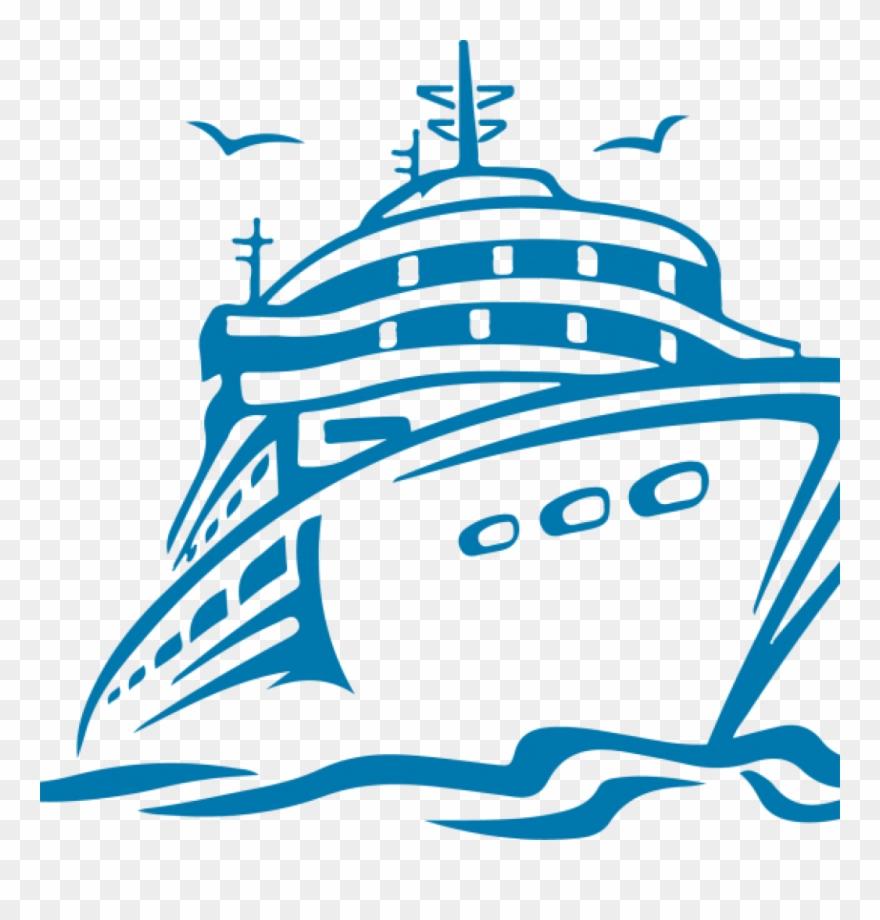 Cruise Ship Clipart.