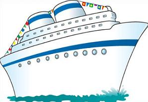 Free Cruise Ship Clipart.