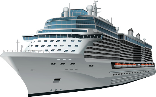 Cruise ship clipart #17