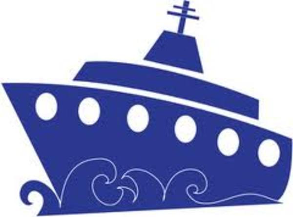 Cartoon Cruise Ship Clipart.