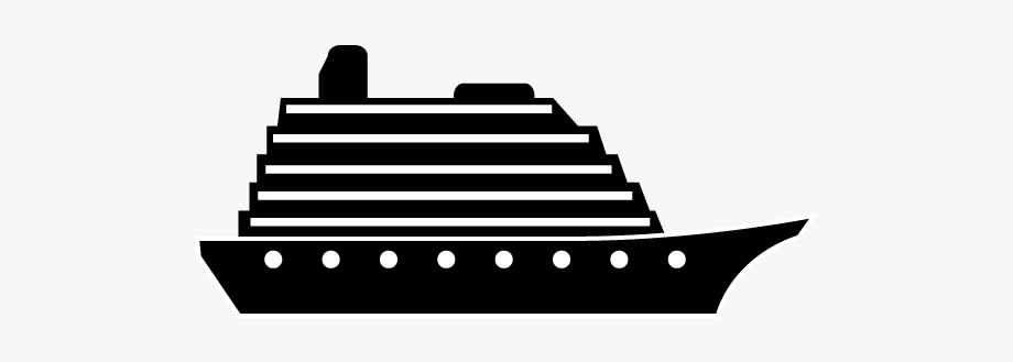 Cruise Clipart Large Ship.