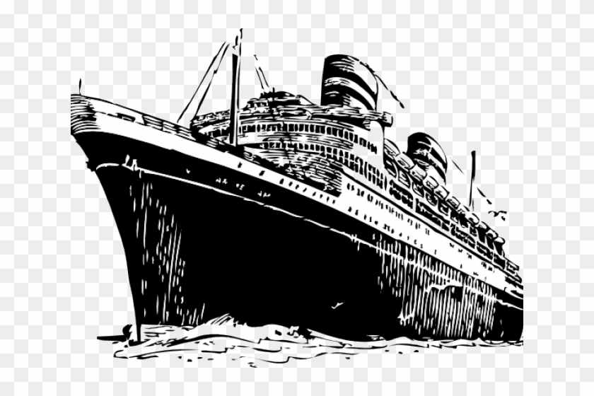 Cruise Ship Clipart Steam Ship.