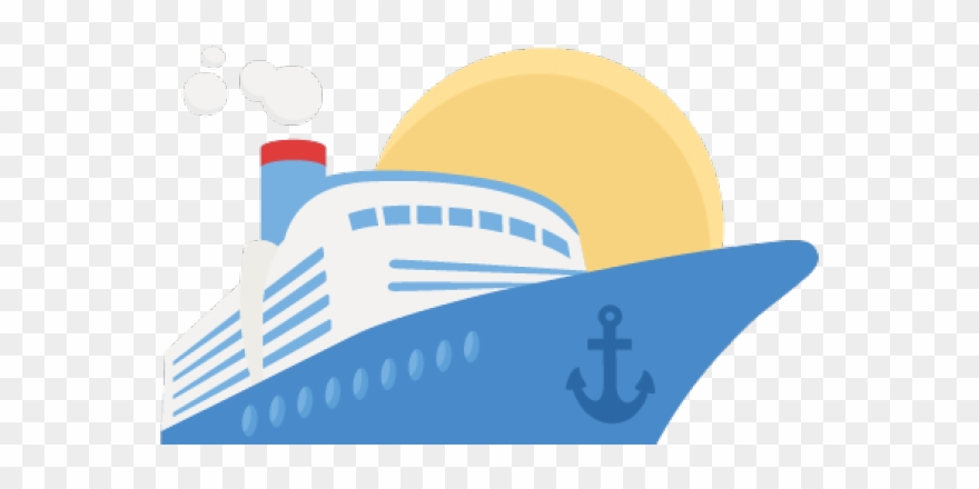 Cruise Ship Clipart Drawing.