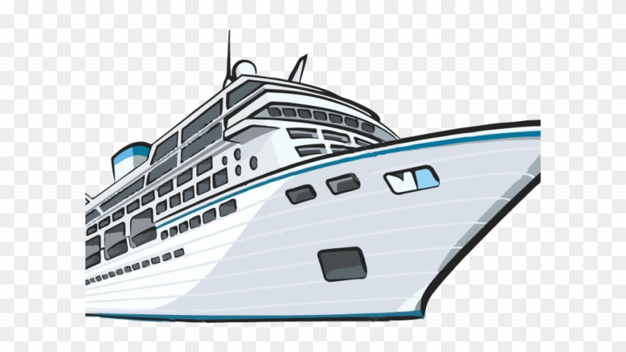 Cruise Ship Clipart Water Transportation.