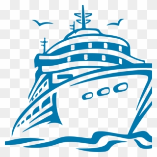 Collection of Cruise ship clipart.