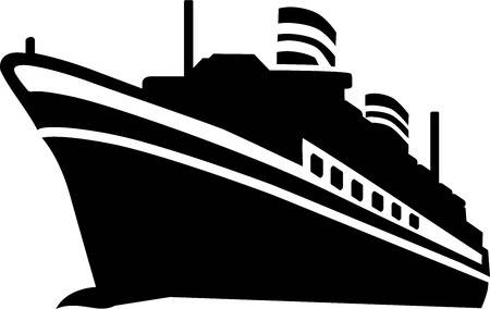 Clipart cruise ship » Clipart Station.
