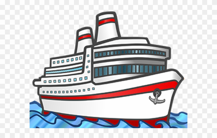 Cruise Clipart Small Ship.