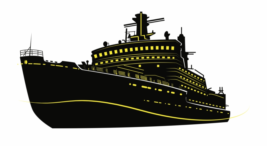 Cargo Ship Silhouette Cruise Ship Drawing Cruiseferry.
