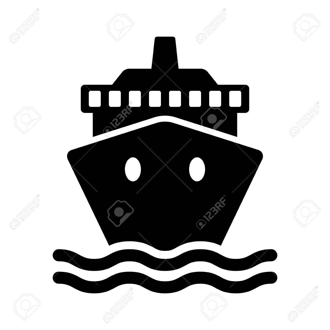 880 Cruise Ship free clipart.