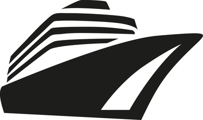 Cruise Ship Silhouette Vector at GetDrawings.com.