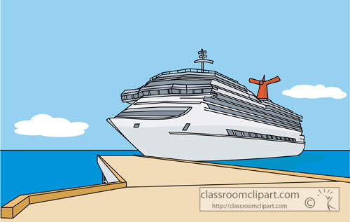 Ship harbor clipart #13