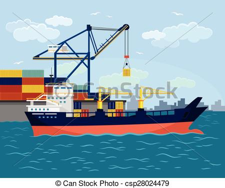 Cruise ship terminal clipart #19