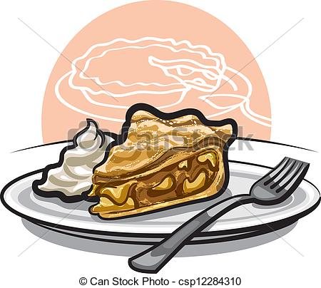Apple pie Stock Illustrations. 1,302 Apple pie clip art images and.