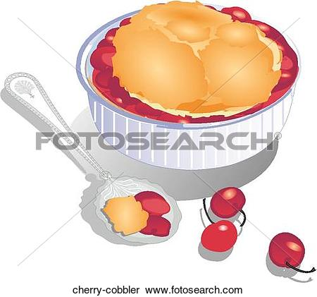 Stock Illustration of Apple Cobbler apple.