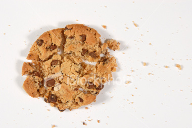 THE COOKIE CRUMBLES.