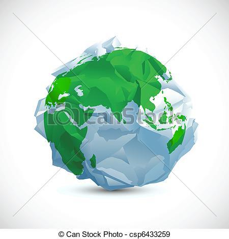 EPS Vectors of Crumbled Earth.