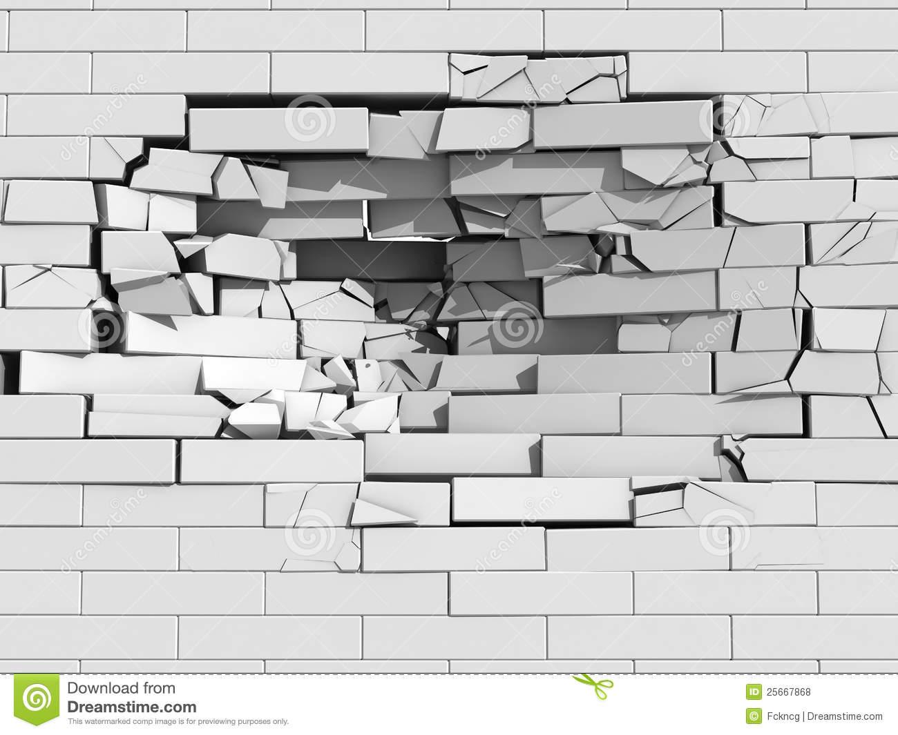 Crumbling Stock Illustrations.