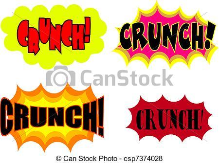 Stock Illustration of Crunch.