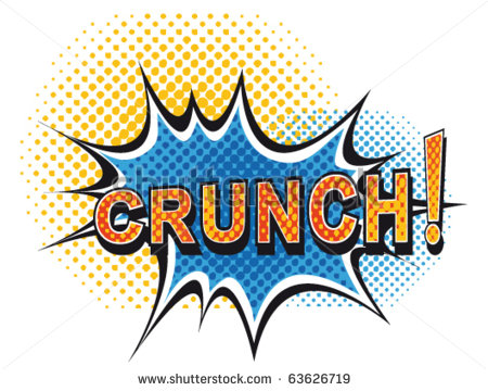 Crunches Clipart.