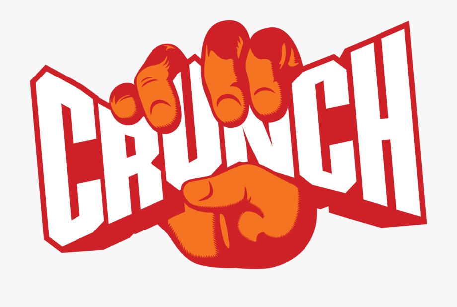 Crunch Fitness Logo Vector.